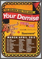 YOUR DEMISE auf Tour