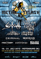 HACKNEYED f�r das METAL 4 SPLASH Festival best�tigt