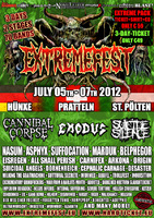 EXTREMEFEST: Running Order Online + Fanpacks fr 59