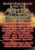 BARTHER METAL OPEN AIR: offizieller Termin best�tigt