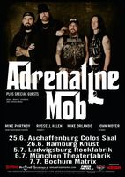 ADRENALINE MOB auf Tour: DOWNSPIRIT als Support