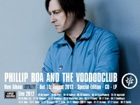 PHILLIP BOA AND THE VOODOOCLUB: Neues Album, Video und Tour