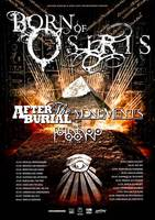 MONUMENTS: Auf Tour mit BORN OF OSIRIS, AFTER THE BURIAL & THE HAARP MACHINE