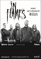 IN FLAMES + Support auf Europatour im Herbst