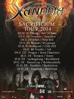 XANDRIA auf Headliner-Tour im Herbst