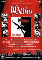 ILL NINO: Vier Konzerte in Deutschland