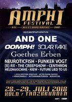 AMPHI: Neue Bands für 2018