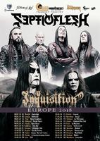 SCEPTIC FLESH und INQUISITION auf Europa-Tour