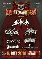 Way Of Darkness-Festival: DOWNFALL OF GAIA bestätigt