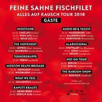 FEINE SAHNE FISCHFILET mit vielen Gästen auf Tour