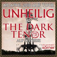 UNHEILIG + THE DARK TENOR auf Zeitreise!