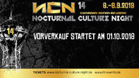 Nocturnal Culture Night 2019: Vorverkauf startet am 01.10.2019