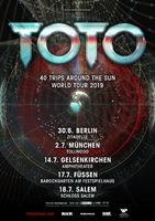 TOTO: 40 Trips Around The Sun World Tour 2019