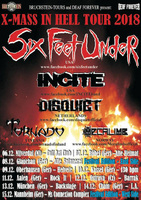 SIX FEET UNDER auf Tour