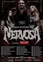 NERVOSA und REZET auf Tour