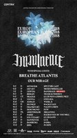 IMMINENCE, BREATHE ATLANTIS and OUR MIRAGE auf Tour