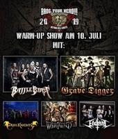 BANG YOUR HEAD!!!: Die Bands für die Warm-Up Show stehen fest!