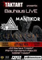 Bauhaus Live: Das Finale