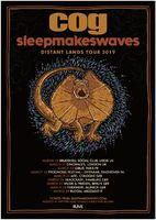 COG und SLEEPMAKESWAVES auf Tour