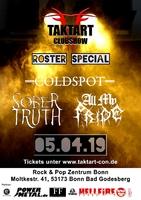 TaktArt Clubshow: ALL MY PRIDE, SOBER TRUTH und COLDSPOT rocken in Bonn