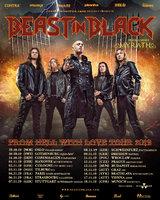 BEAST IN BLACK kündigt zweiten Teil der Tour an