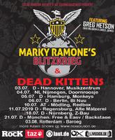 DEAD KITTENS: Album wird auf Tour mit MARKY RAMONE'S BLITZKRIEG vorgestellt