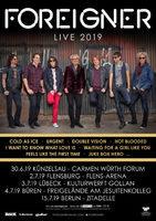 FOREIGNER: Die Hits live! Änderung in Künzelsau