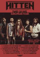 HITTEN: Europa Tour bestätigt