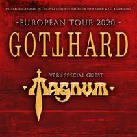 GOTTHARD & MAGNUM – 2020 gemeinsam auf Tour!