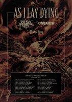 AS I LAY DYING: Zweiter Albumtrailer, Tourdaten
