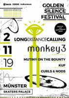 GOLDEN SILENCE FESTIVAL Vol.1: LONG DISTANCE CALLING ist Headliner