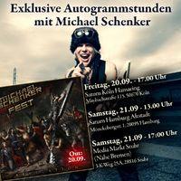 MICHAEL SCHENKER FEST mit drei exklusiven Autogrammstunden!