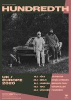 HUNDREDTH: Im Februar auf Tour in Deutschland