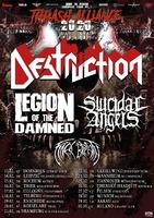 DESTRUCTION: Thrash Alliance Tour 2020 angekündigt!