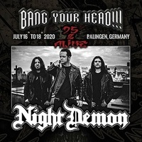 BANG YOUR HEAD!!!: NIGHT DEMON ist 2020 mit dabei!