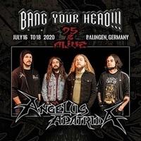BANG YOUR HEAD!!!: ANGELUS APATRIDA bestätigt!