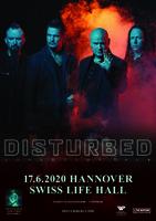 DISTURBED: Konzert in Hannover sowie bei Rock Am Ring und Rock Im Park