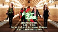 NIGHT LASER mit gestreamtem Tourfinale im Hamburg