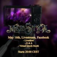 MAJESTICA: Livestream am Samstag