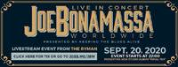 JOE BONAMASSA: Livestream am 20. September