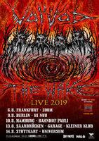 Ahorn-Thrash, frisch auf den Tisch:VOIVOD auf Tour!