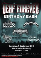 DEAF FOERVER BIRTHDAY BASH:Some minutes to midnight